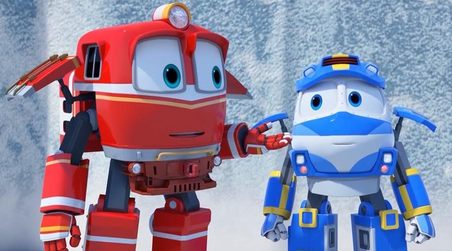 Персонажи Роботы-поезда